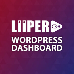 Liiper - WordPress Dashboard_Plugin
